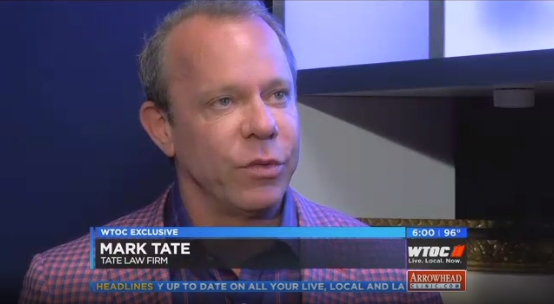 Tate Law Group on WTOC – $4 5 Million Priest Sex Abuse Settlement
